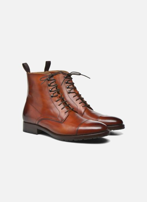 Bottines et boots Marvin&Co Luxe Walfred - Cousu Goodyear Marron vue 3/4