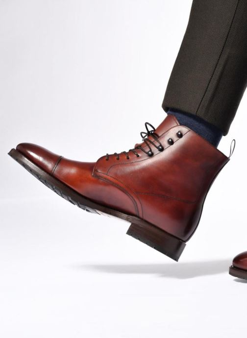 Bottines et boots Marvin&Co Luxe Walfred - Cousu Goodyear Marron vue bas / vue portée sac