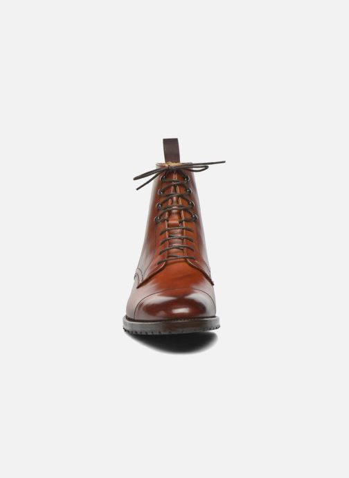 Bottines et boots Marvin&Co Luxe Walfred - Cousu Goodyear Marron vue portées chaussures