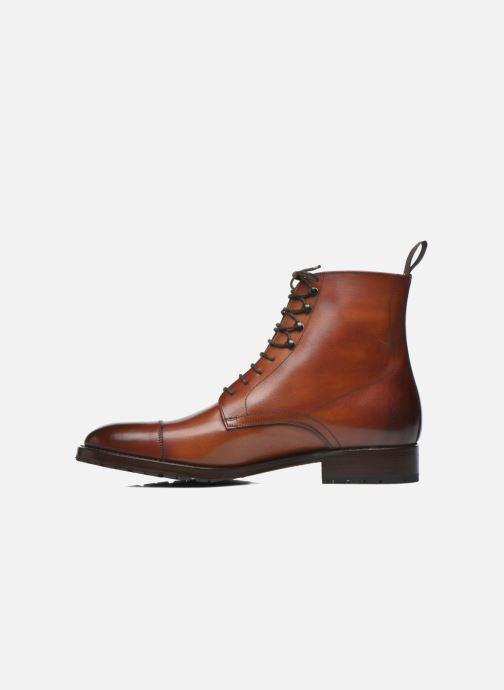 Boots en enkellaarsjes Marvin&Co Luxe Walfred - Cousu Goodyear Bruin voorkant