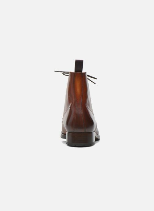 Botines  Marvin&Co Luxe Walfred - Cousu Goodyear Marrón vista lateral derecha