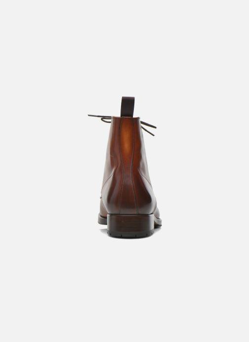 Boots en enkellaarsjes Marvin&Co Luxe Walfred - Cousu Goodyear Bruin rechts