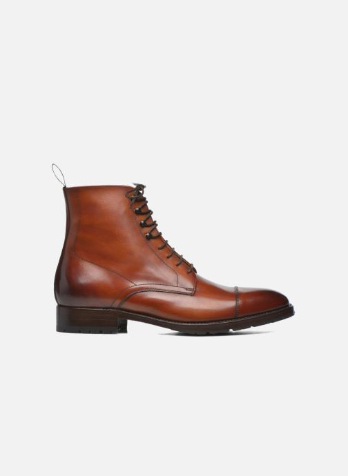 Botines  Marvin&Co Luxe Walfred - Cousu Goodyear Marrón vistra trasera