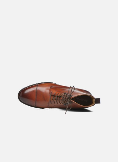 Bottines et boots Marvin&Co Luxe Walfred - Cousu Goodyear Marron vue gauche