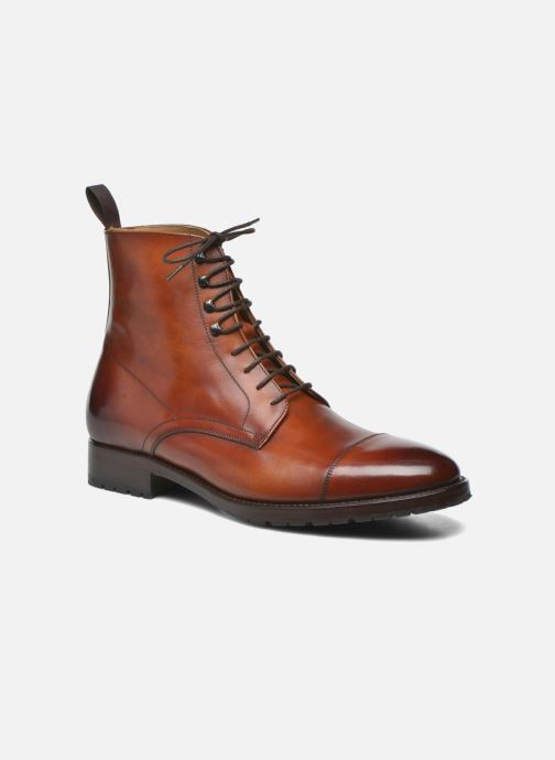 Bottines et boots Marvin&Co Luxe Walfred - Cousu Goodyear Marron vue détail/paire