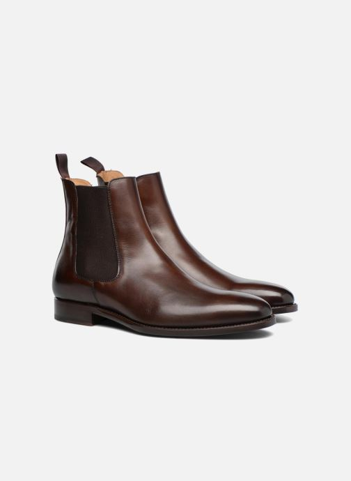 Bottines et boots Marvin&Co Luxe WASPEN - Cousu Goodyear Marron vue 3/4