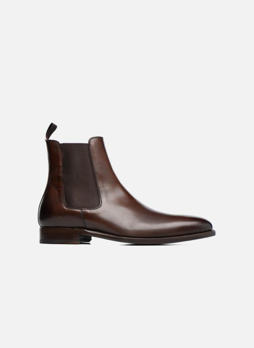 Ankle boots Marvin&Co Luxe WASPEN - Cousu Goodyear Brown back view