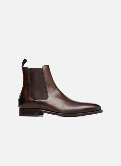 Boots en enkellaarsjes Marvin&Co Luxe WASPEN - Cousu Goodyear Bruin achterkant