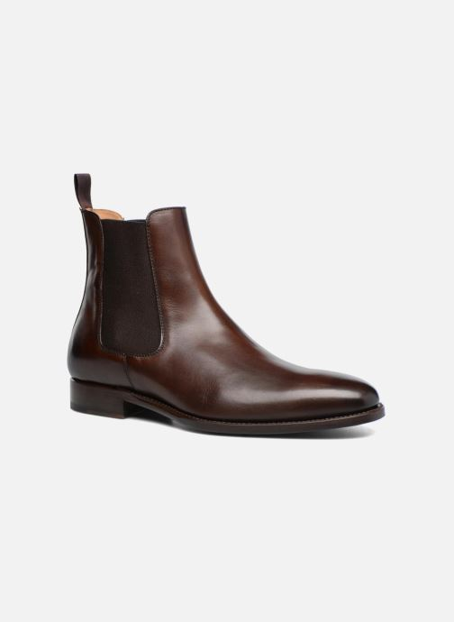 Ankle boots Marvin&Co Luxe WASPEN - Cousu Goodyear Brown detailed view/ Pair view
