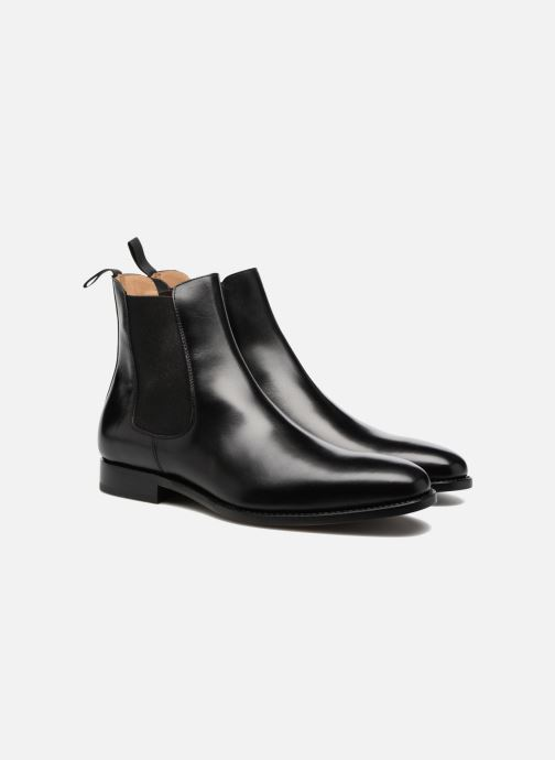 Bottines et boots Marvin&Co Luxe WASPEN - Cousu Goodyear Noir vue 3/4