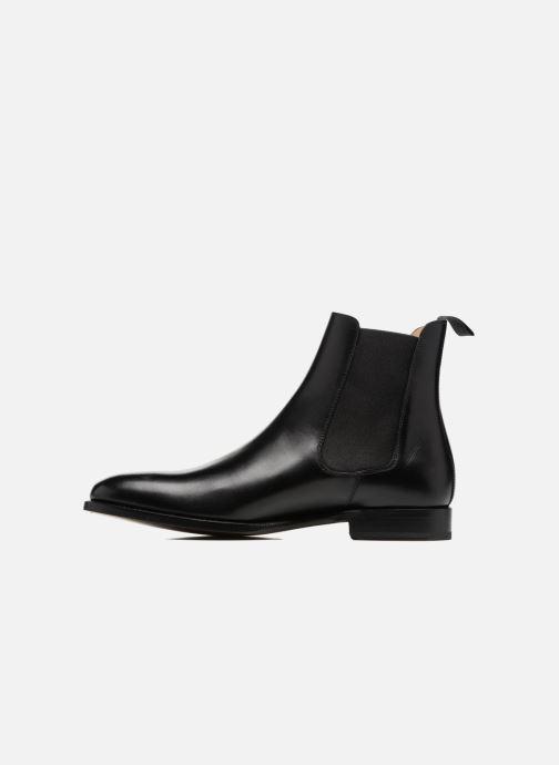 Boots en enkellaarsjes Marvin&Co Luxe WASPEN - Cousu Goodyear Zwart voorkant