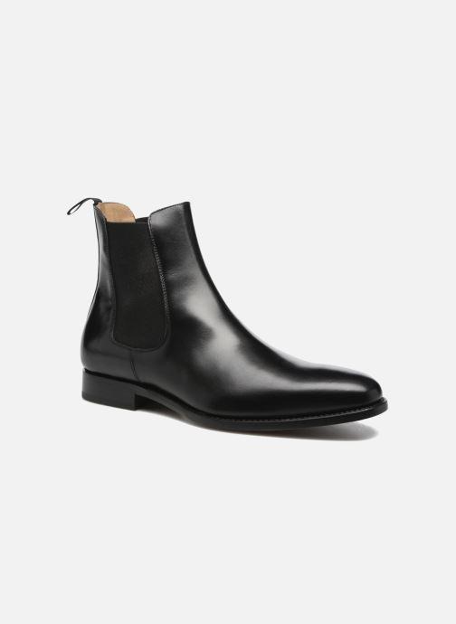 Ankelstøvler Marvin&Co Luxe WASPEN - Cousu Goodyear Sort detaljeret billede af skoene