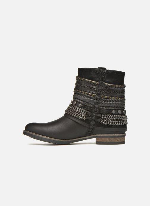 Boots en enkellaarsjes Bullboxer Lalima Zwart voorkant