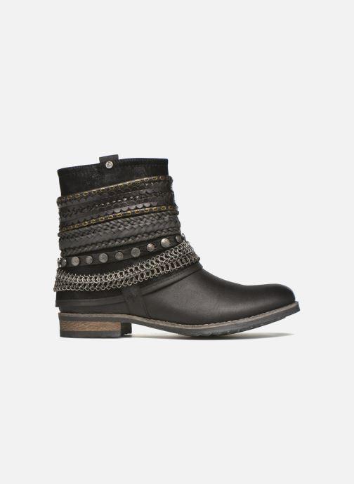Boots en enkellaarsjes Bullboxer Lalima Zwart achterkant