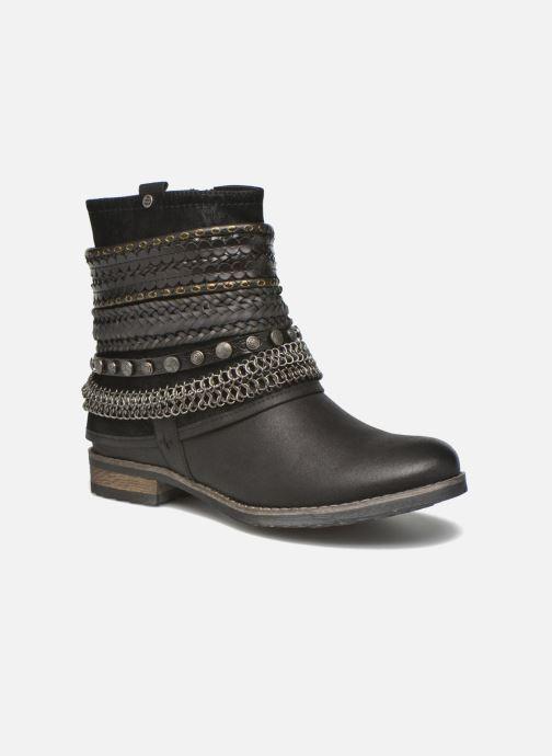 Boots en enkellaarsjes Bullboxer Lalima Zwart detail