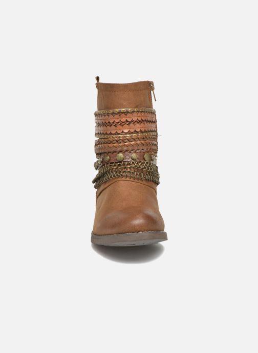 Bottines et boots Bullboxer Lalima Marron vue portées chaussures