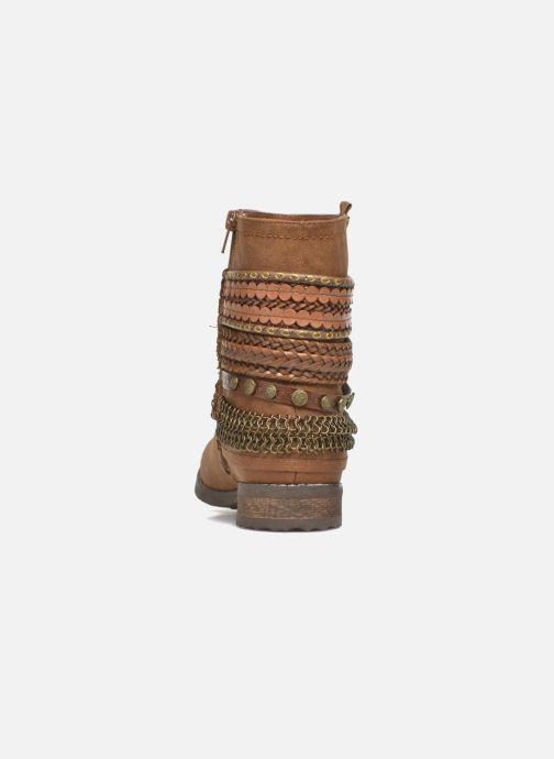 Bottines et boots Bullboxer Lalima Marron vue droite