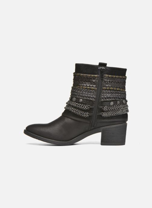 Ankle boots Bullboxer Lipika Black front view