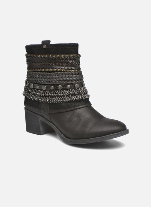 Ankle boots Bullboxer Lipika Black detailed view/ Pair view