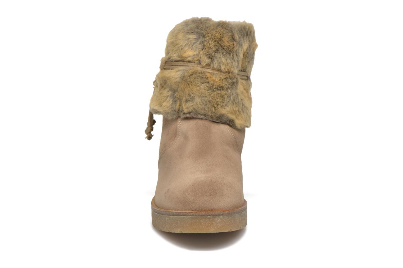 Bottines et boots Bullboxer Damia Beige vue portées chaussures