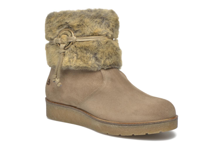Bottines et boots Bullboxer Damia Beige vue détail/paire