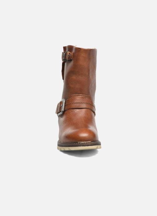 Boots en enkellaarsjes Bullboxer Janaki Bruin model