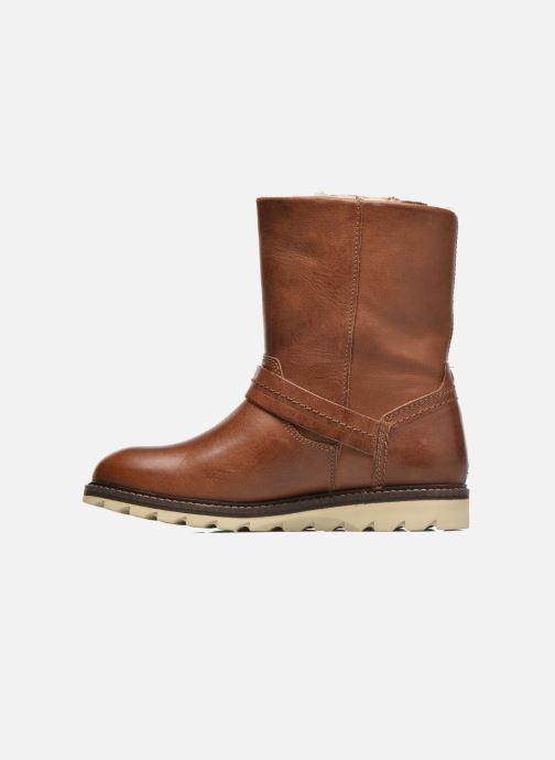 Boots en enkellaarsjes Bullboxer Janaki Bruin voorkant
