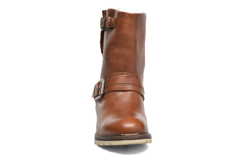 Bottines et boots Bullboxer Janaki Marron vue portées chaussures
