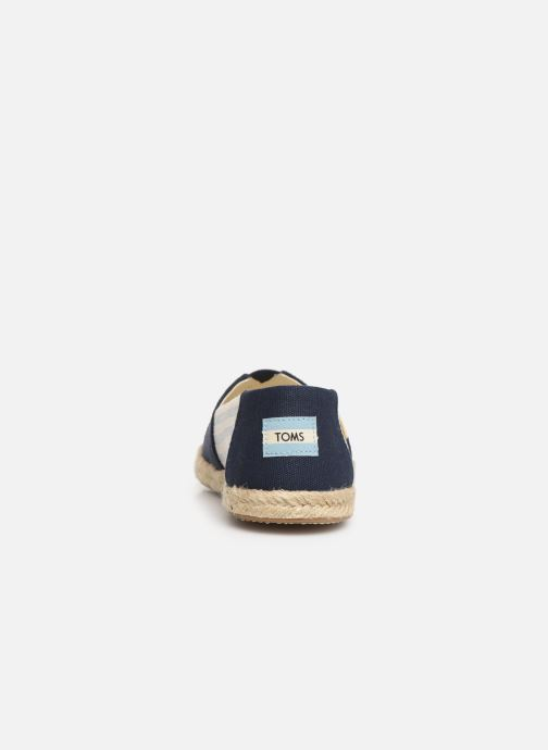 Espadrilles TOMS Alpargata Blue view from the right