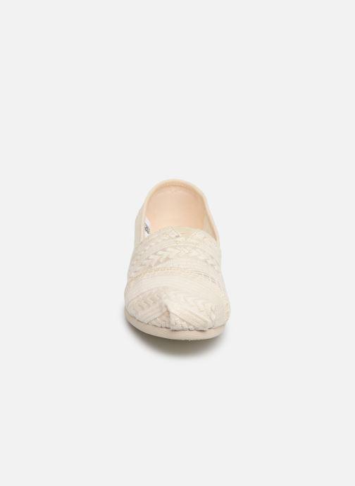 Espadrilles TOMS Alpargata Blanc vue portées chaussures