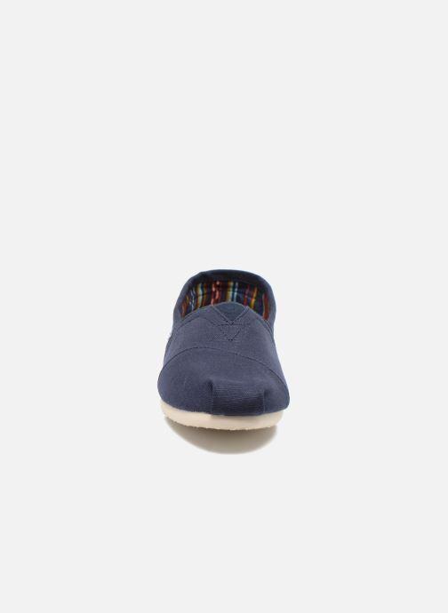 Espadrilles TOMS Core Classics Bleu vue portées chaussures