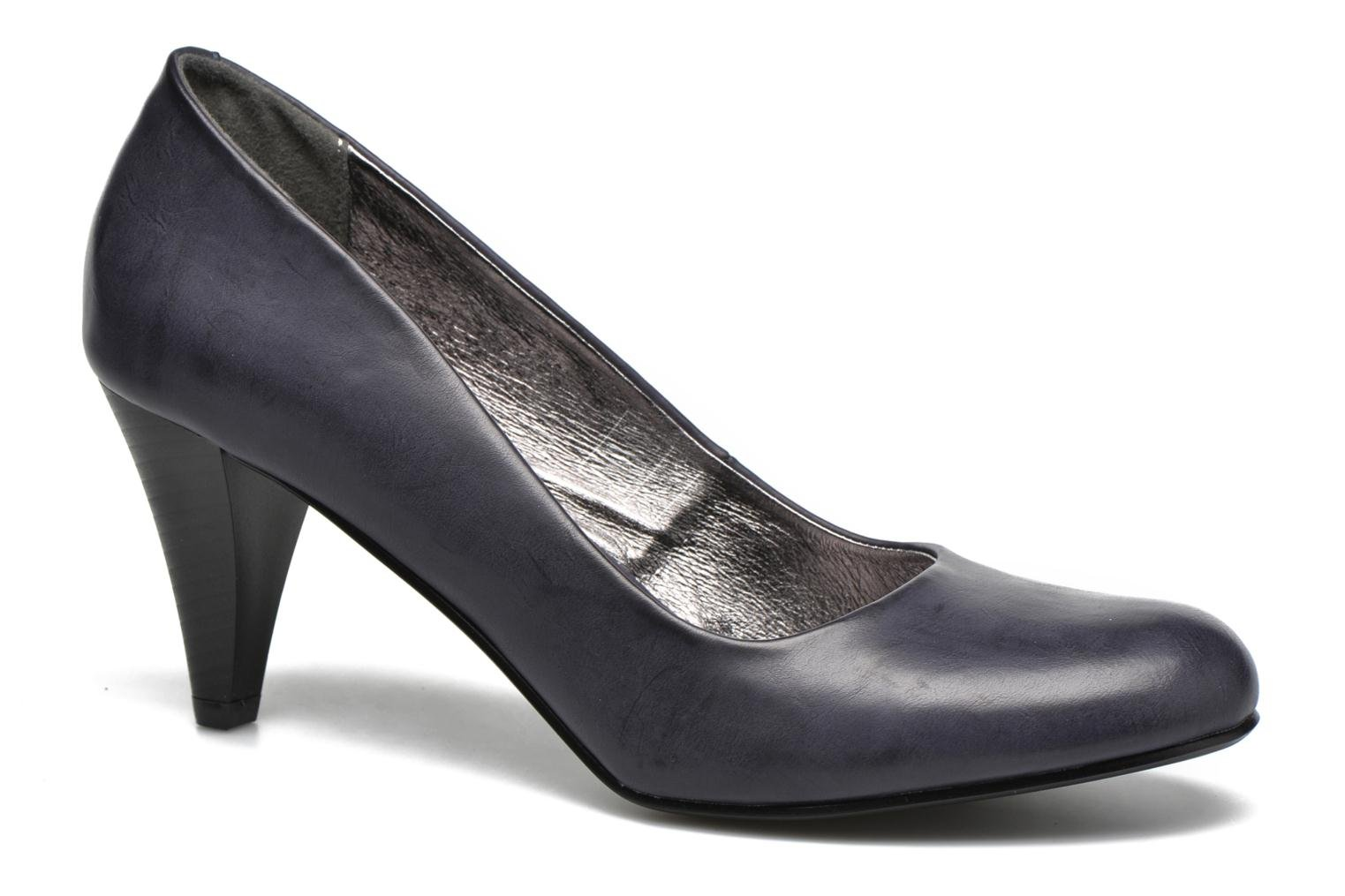 High heels I Love Shoes Thadi Size + Blue detailed view/ Pair view
