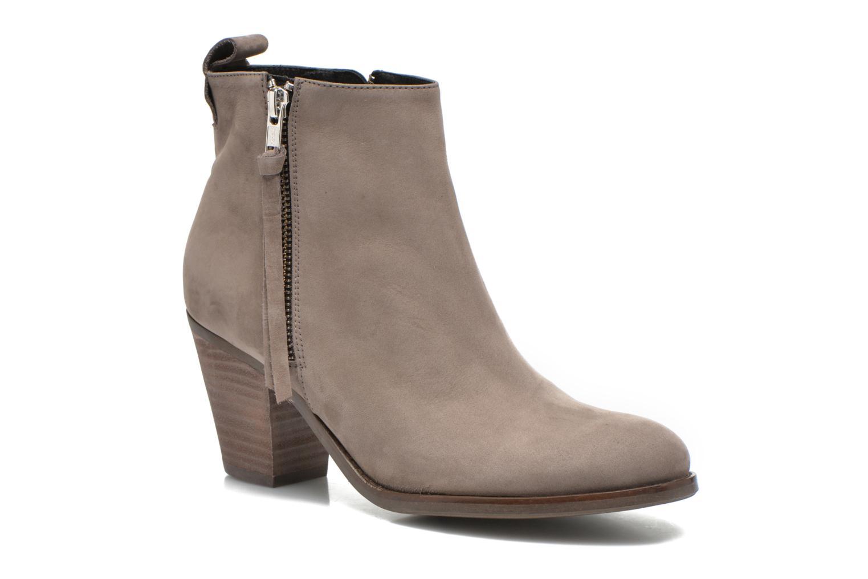 Ankelstøvler Billi Bi Iris Beige detaljeret billede af skoene