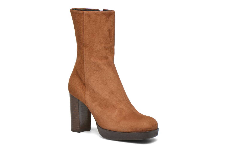 Bottines et boots Billi Bi Lotier Marron vue détail/paire