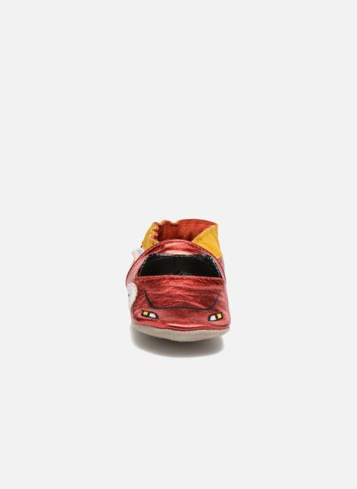 Pantoffels Robeez Rocar Rood model