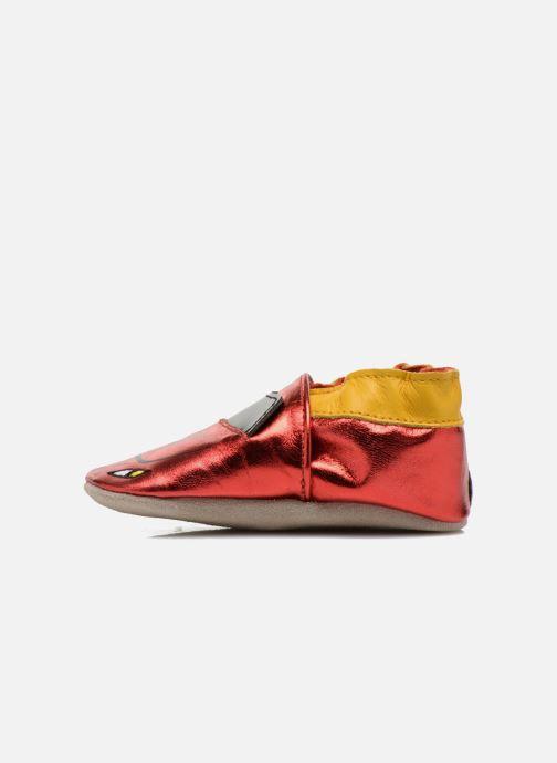 Pantoffels Robeez Rocar Rood voorkant