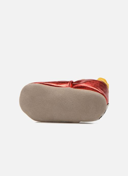 Pantoffels Robeez Rocar Rood boven
