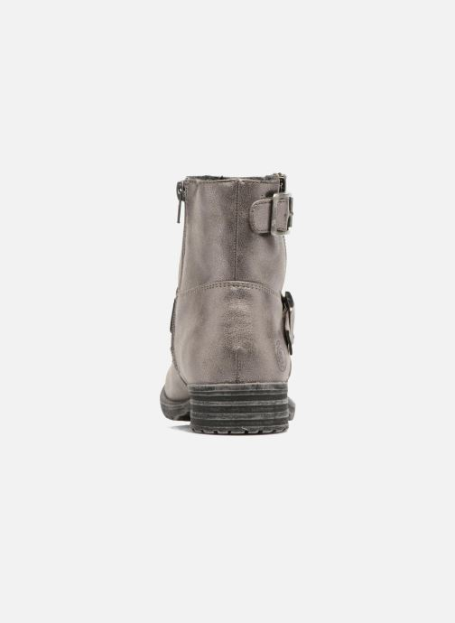 Ankle boots Bullboxer Margota Silver view from the right