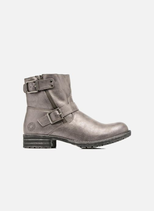 Ankle boots Bullboxer Margota Silver back view