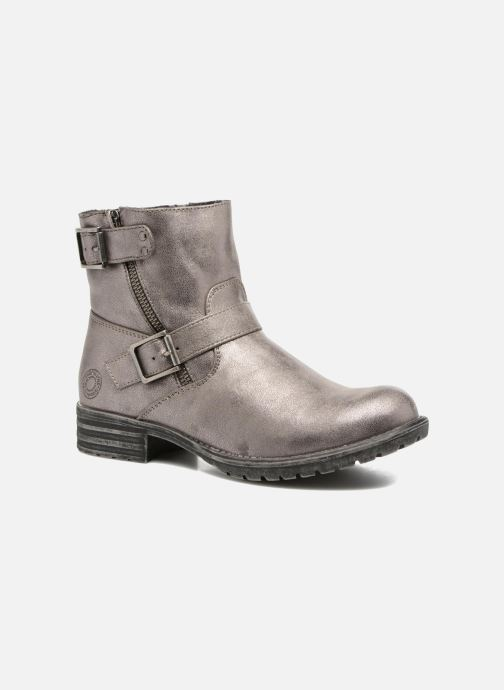 Ankle boots Bullboxer Margota Silver detailed view/ Pair view