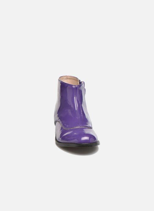 Bottines et boots Mellow Yellow Mnalbanil Violet vue portées chaussures