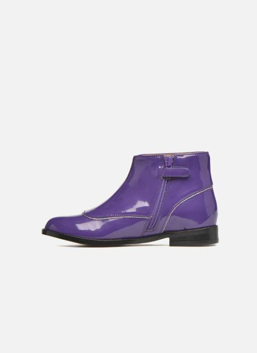 Bottines et boots Mellow Yellow Mnalbanil Violet vue face