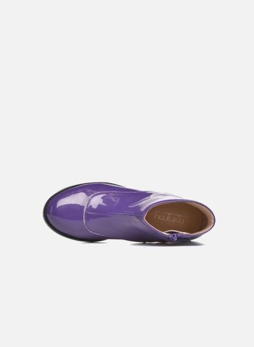 Bottines et boots Mellow Yellow Mnalbanil Violet vue gauche