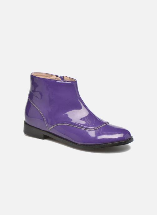 Bottines et boots Mellow Yellow Mnalbanil Violet vue détail/paire