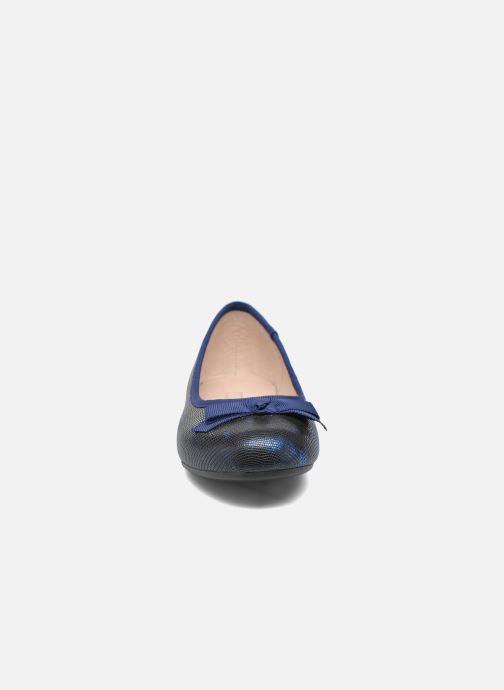Ballerines Mellow Yellow Mnalegral Bleu vue portées chaussures