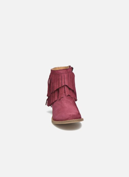 Bottines et boots Mellow Yellow Mnarabel Bordeaux vue portées chaussures