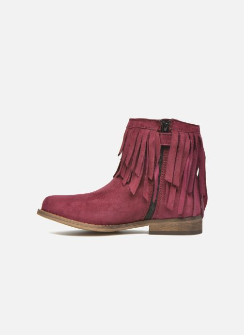Bottines et boots Mellow Yellow Mnarabel Bordeaux vue face