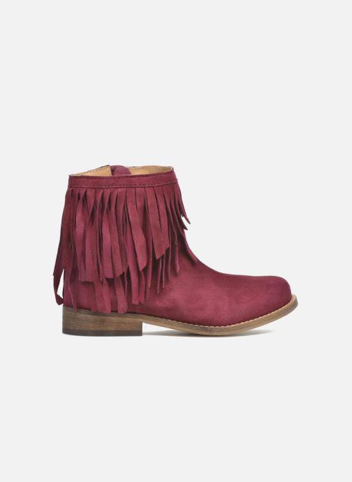 Bottines et boots Mellow Yellow Mnarabel Bordeaux vue derrière