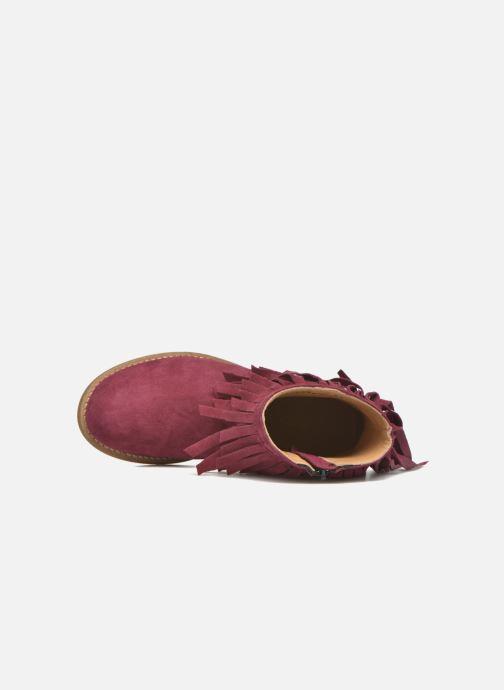 Bottines et boots Mellow Yellow Mnarabel Bordeaux vue gauche