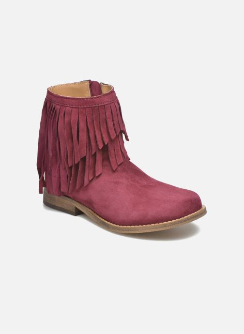 Bottines et boots Mellow Yellow Mnarabel Bordeaux vue détail/paire